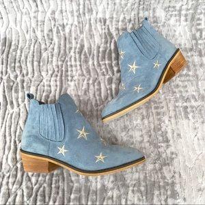 MI. IM Tetsu Star powder blue ankle bootie 8